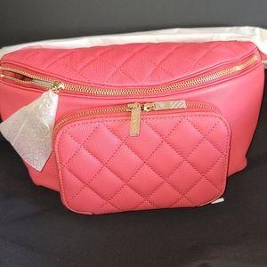 Chanel Rose/Pink Caviar Leather Waist BumBag